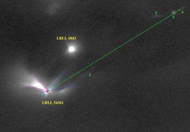 Lampi di protostella