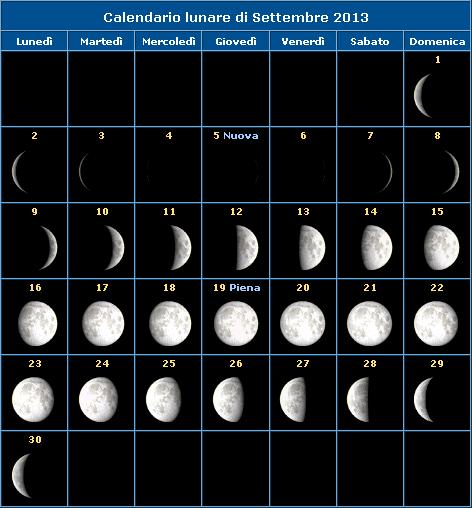 Calendario 2015 in PDF con santi e fasi lunari da stampare