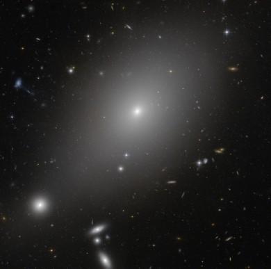 ESO 306-17, un predatore senza più prede